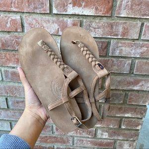 Rainbow sandals T-street Braid Ankle Strap Sandal